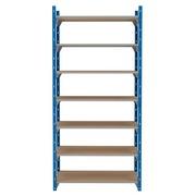 Set van 7 houten isorel legplanken voor Archiv'Pro breedte 100 cm