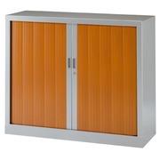 Lage rolluikkast monobloc Généric 100 x 120 cm aluminium behuizing - lichte eik