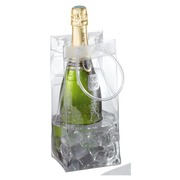 Pack of 6 bottle bags Ice Bag crystal 11 x 11 x 26 cm