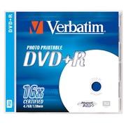 DVD+R Verbatim 16x bedrukbaar