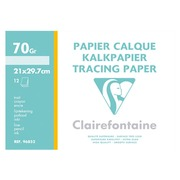 Sleeve of tracing paper satin Clairefontaine A4 70-75g 12 sheets