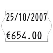 Rol 1200 witte etiketten 26 x 16 mm