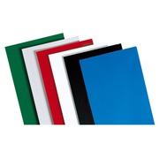 Pack von 100 Luxe-Dokumentenhüllen für Bindegeräte - Weiß