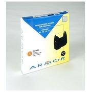 Zwarte inktcassette Brother AX10
