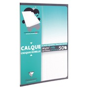 Packet of tracing paper satin Clairefontaine A3 90-95g 50 sheets