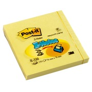 Z-notes block 76 x 76 mm, yellow