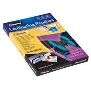 Boîte 100 pochettes de plastification adhésives A4 2 x 125 µ brillantes