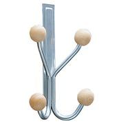 Door hanger, 4 hooks, length 13 cm