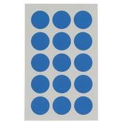 Pastille adhésive Ø 19 mm Agipa 111962 bleue - Boîte de 90