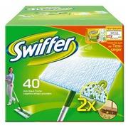 Lingettes Swiffer dépoussiérage des sols - Boite de 40