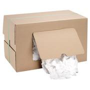 Extrafijne witte schoonmaakdoekjes in katoen - doos van 10 kg
