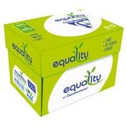 Doos met gerecycleerd papier Clairefontaine Equality A4 80 g - 2500 vellen - wit