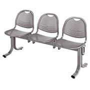 Vega 3-Sitzer-Bank - Aluminium Metall