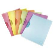 Chemise de présentation à clip Leitz Color Clip 22 x 31 cm couleurs assorties