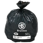 Karton 500 vuilniszakken 50 l NF Bruneau