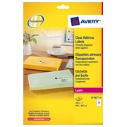 Package of 350 address labels Avery L 7563 99,1 x 38,1 mm for laser printer