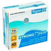 Agrafes Rapid 23/24 forte galvanisée - Boîte de 1000