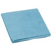 Stofdoek Micro'fun kleur Nicols - Pak van 5 - blauw