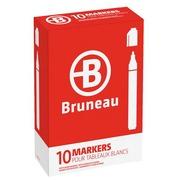 Marqueur effaçable Bruneau pointe ogive 1,5 mm - Corps plastique