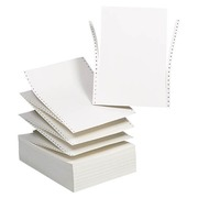 Listing paper text processing Exacompta 2 copies 70 g 240 x 305 mm - 1000 sheets