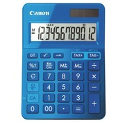 Calculatrice de bureau Canon LS123K bleu