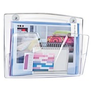 Wall organizer 1 compartment Cep magnetic colourless