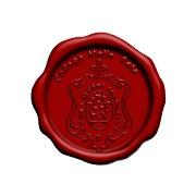 LAKSTEMPEL diameter 40mm - met logo