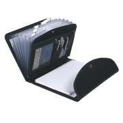 Sorting folder in plastic Exacompta Exafolio with block holder 6 divisions black