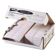 Etiquette affranchissement 1 de front 150 x 39 mm Apli Agipa blanche - Boîte de 1000