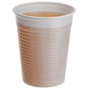 Disposable cups Bruneau in plastic - 20 cl - white - Box of 3000