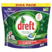 Box of 100 tablets for dishes Dreft Regular