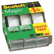 Pakket van 2 + 1 verdelers Scotch Magic plakband