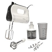 Philips Avance Collection HR1578 - hand mixer - white/black
