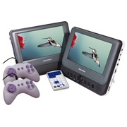 Salora DVP9048TWIN+GC - DVD player with LCD monitor / LCD monitor - display 9