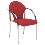 Meeting chair Vizio red