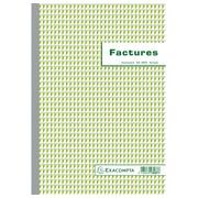 Doorschrijfpapier Facturen met BTW 29,7x21cm 50 zelfkopiërend papier dupli