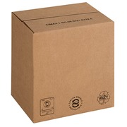 Boxes with automatic bottom and adjustable height L 30.5 x W 21.5 x H 21.5/32.5 cm
