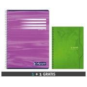 Pack 10 notebooks A4 Calligraphe + 5 notebooks A5 for free