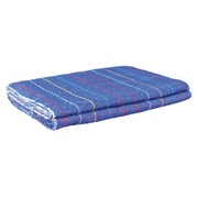 Sponge hand towel blue 70% cotton - set of 2