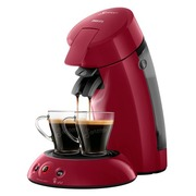 Philips Senseo Original HD6554 - coffee machine - 1 bar - deep red