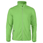 Printer Twohand Fleece Jacket Bright Green 4XL