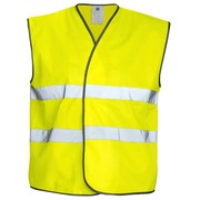 6703 VEST HV CL.2 Yellow
