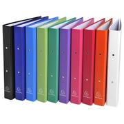 Exacompta PP covered Ring Binder, A4, 2 rings, 40mm spine - Assorted colours (54330E)