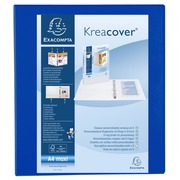 Kreacover PP Ring Binder, A4 Maxi, 2 D-rings 40mm