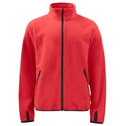 2327 Fleece Jacket Red 4XL
