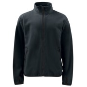 2327 Fleece Jacket Black 4XL