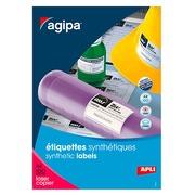 Etiketten zeer grote weerstand laser 105 x 148,5 mm Apli - wit - zakje van 400