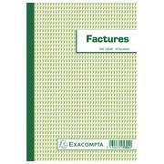 Blocs Factures 50 feuilles - Format 21x14,8 cm - texte FR