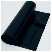 Vuilniszak 37 micron, ft 70 x 110 cm, zwart, rol van 25 stuks