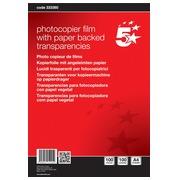 5 Star transparents pour photocopieurs